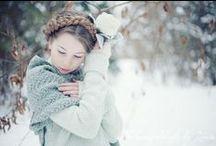Photoshoot inspiration - Snow, Winter & White