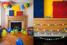 Lego organization, ideas & fun! Lego Party / Lego Parties, Lego Organization & Lego games