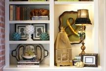 Bookshelves, Built-ins and shelving ideas