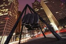 Detroit, je t'aime  / by Peggy Muszynski Vegan