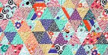 Geometric Bliss Fabric / Geometric Bliss by Jeni Baker for Art Gallery Fabrics