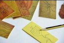ART - Techniques,Strategies, and so on... / Técnicas usadas em artes visuais diversificadas, etc....