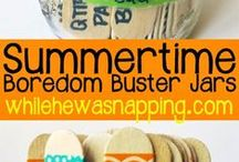 Summer Activity Bucket List / Rainy and Sunny day activities, recipes, crafts & more