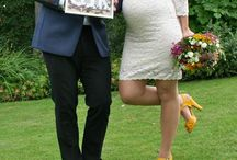 I do! / Wedding, flowers in the hair, yellow deco, garden, boho inspiration❤️