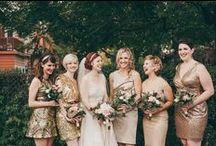 Bridesmaids NYE - GOLD / by * EMPIRELLA *