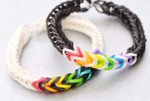 Create it - LOOM it! / Rainbow and monster loom patterns and ideas.