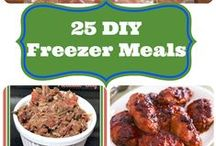 Make Ahead Meals / Freezer Meals and Canning / All about canning fruits and vegetables and freezer meal recipes