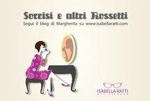 """Sorrisi e altri rossetti / Ciao sono Margherita e tengo la rubrica SORRISI E ALTRI ROSSETTI """"sono quei 5 minuti in cui si chiacchiera fra amiche di frivolezze assolutamente """"fondamentali"""" e """"imprescindibili"""" per una donna: condividiamo le nostre conoscenze e le nostre esperienze in fatto di makeup e di beauty.  www.isabellaratti.com"""