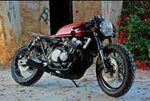 honda cb400 cafe racer / custom honda cb400 cafe racer