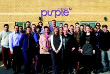 Purple People / It's the People that make the #Agency. Here are the The Purple Agency team / by The Purple Agency