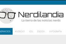 Nerdilandia / Todas las imágenes que acompañan al sitio web www.nerdilandia.com