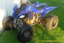 2008 Raptor 250cc Four wheeler