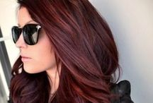 Hair / Color and style inspiration.
