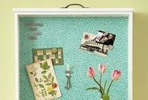 Bulletin boards / Beautiful and inventive ways to pin in real life!