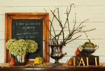 Autumn Centerpieces
