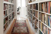H O M E | leben mit büchern / Bücherwände, Bibliotheken, Regale voller Geschichten und die Sammlungen Bibliophiler