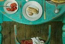 I N T E R I O R | der gedeckte tisch / Familien essen zusammen. Und es ist erst dann ein richtiges Essen, wenn der Tisch gefüllt mit Speisen, Geschirr und Besteck ist. Ein Fest für alle!  Hier gibt es 1001 Idee für den gedeckten Tisch.