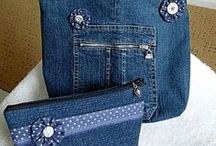 Recycled Jeans BAGS!