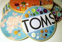 What to do with TOMS flags! / All of these pins used the TOMS flag to create something cool and useful!