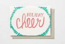 BDR-studio Holiday / Holiday letterpress offerings / by BDR-studio