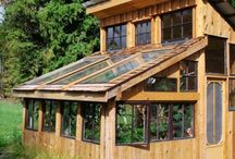 Microfarm:GardenTools&Structures / Garden structures...sheds, greenhouses see, raised beds, et al / by MXS Maxine Smith
