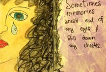 Good Grief - Remembering / Art journal prompts and scripture for Good Grief course from 13Prayers.com/good-grief/