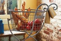 Baskets & Carts / Fun and fashionable containers to organize and hold your special items / by Olivia Fisk