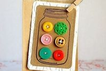 Buttons / Buttons of all shapes, sizes and colors / by Olivia Fisk