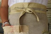 Aprons / Aprons for gift-giving and enjoy wearing / by Olivia Fisk