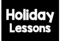 Holidays / by Panicked Teacher