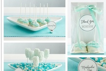 Tiffany Blue Baby Shower / by Em F