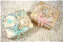 aLTeReD aRT & BoXeS / Peep boxes, shadow boxes, altered boxes and art