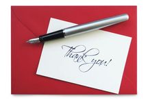 Interview Thank You Notes / Job searching? Master the art of the thank you note with these tips and tricks.