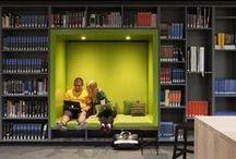 Librerías y bibliotecas / by Daniel Ge