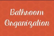 Bathroom Organization / The Bathroom is the one place I cannot keep neat and tidy. By the time I get done with my makeup, hair products, and accessories, the place is a mess. Here is a board  with tips and tricks to help with my disaster :)
