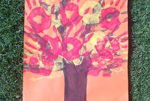 Season art for kids / Ideas for kids season art
