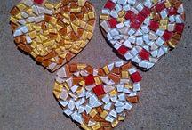 Valentines art for kids / Kids valentines