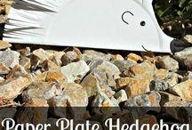 Paper plate crafts / Kids paper plate crafts