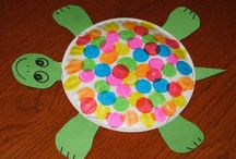 Reptile art / Preschool reptile art