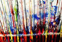 Crayon art for kids / Crayon art activities