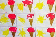 Opposite crafts for kids / Opposite art for preschool toddlers