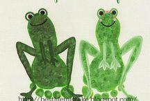 Amphibians / Amphibian art f