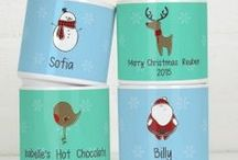 Personalised Christmas / Some special gifts, crafty bits and tasty treats to create a memorable Christmas for you and the kids