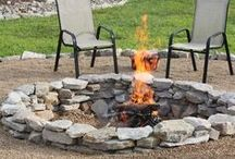 Fire Pits, Burning Yard Waste / by Denise {First a Dream}