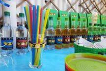 Lego Ninjago Geburtstag / #Lego #Ninjago #Party #Ideas #Ideen #Birthday