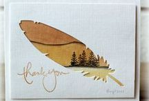 Cardzzz...Feathers / by Cat o phile