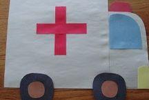 Occupations / Preschool occupation crafts and art
