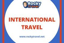 International Travel / All things you need to know about International Travel. From how to find the best airfare deals, to travel visas, travel fomalities, how to get ready for your trip, go through customs, spend a layover at the airport or plan a stopover inbetween your final destination. Learn how to pack for travelling overseas, use internet while away from home and much more. #traveloverseas #internationaltravel #overseastravels #gooverseas