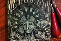 Printmaking / Printmaking pieces and processes
