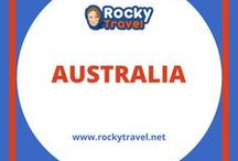 Australia Travel / An Australia Travel Guide to help you plan your trip around the country. From discovering new destinations to getting around and seeing all famous Australian landmarks.
